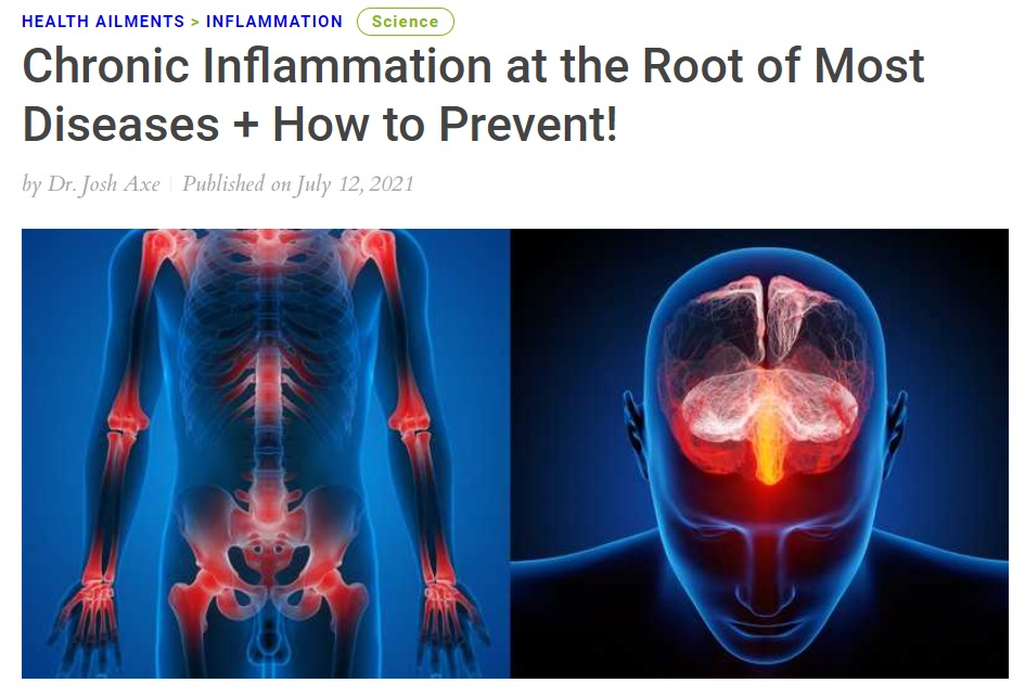 Chronic Inflammation at the Root of Most Diseases