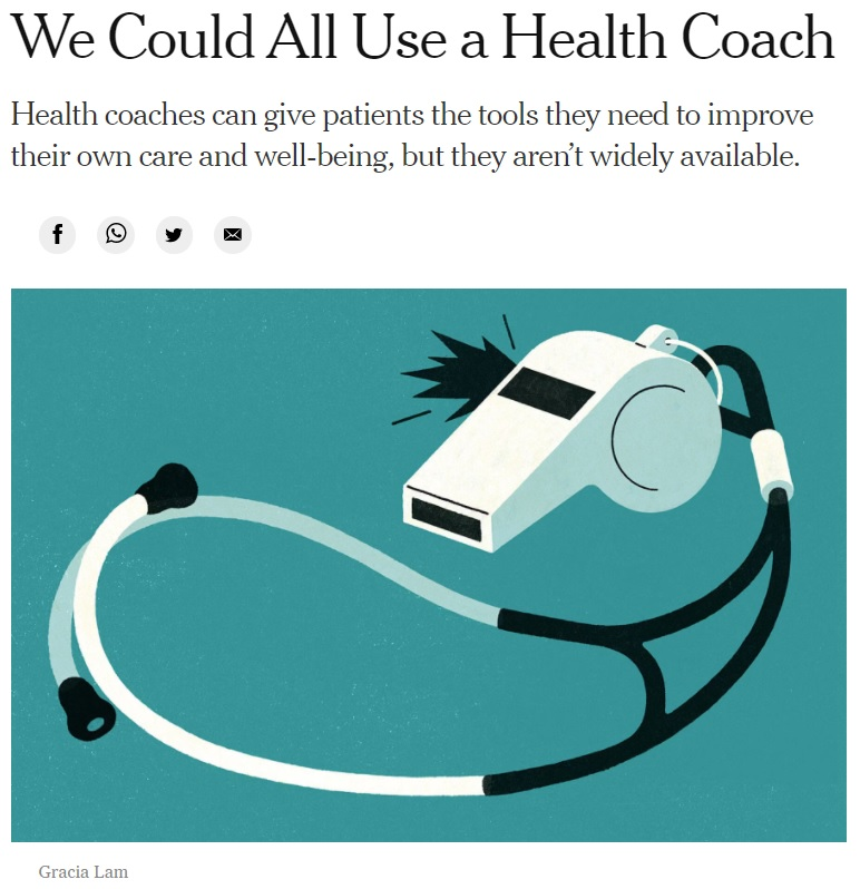 We Could All Use a Health Coach